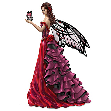 Nene Thomas Magic Of Hope Fairy Figurine Supports Women's Heart Health