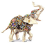 Thomas Kinkade Elegant Treasure Figurine With Swarovski Crystals