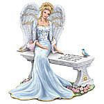 Thomas Kinkade Heaven's Embrace Bereavement Angel Figurine