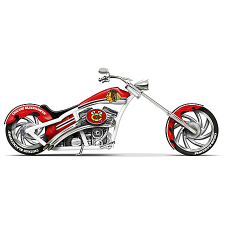 NHL-Licensed Chicago Blackhawks® Cruiser Figurine