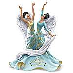 Sisters Are Blessings From Above Figurine With Swarovski Crystals