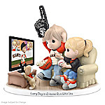 MLB-Licensed Precious Moments Every Day Is A Home Run With You San Francisco Giants Baseball Figurine