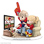 MLB-Licensed Precious Moments Every Day Is A Home Run With You St. Louis Cardinals Baseball Figurine