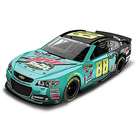 Dale Earnhardt Jr. No. 88 Mountain Dew Baja Blast 2015 NASCAR Sprint Cup Series Diecast Car