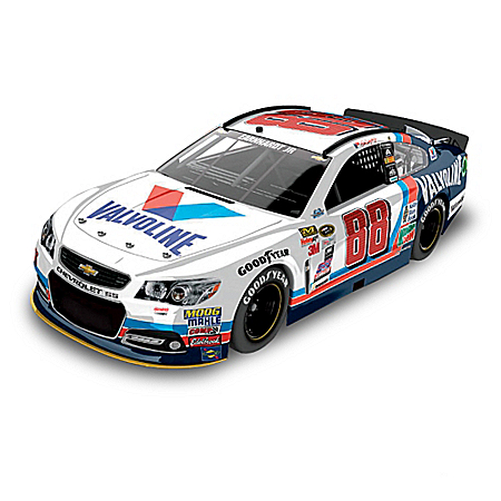 Dale Earnhardt Jr. No. 88 Valvoline Throwback 2015 1:24 Scale Diecast Car
