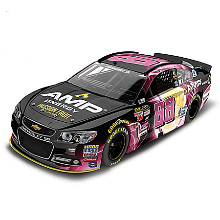 Dale Earnhardt Jr. No. 88 Amp Energy Passion Fruit 2015 NASCAR Sprint Cup Series Diecast Car