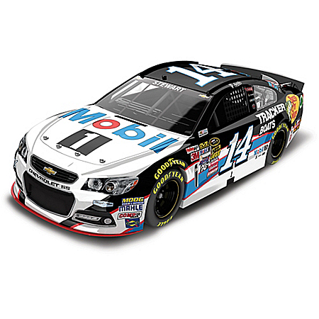 Tony Stewart No. 14 Mobil 1 2015 1:24 Scale Diecast Car