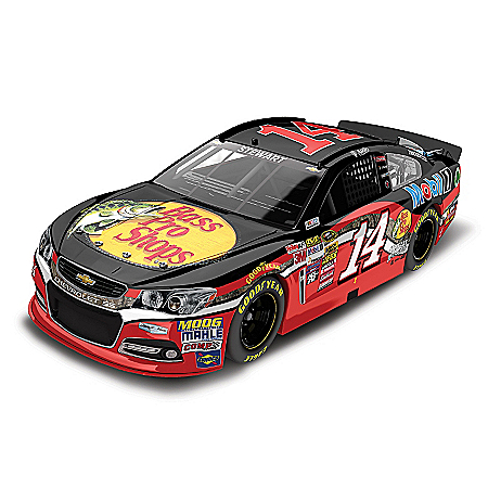 Tony Stewart No. 14 Bass Pro Shops 2015 1:24 Scale Diecast Car