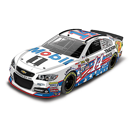 Tony Stewart No. 14 Mobil 1 Salutes Sprint Cup Series Diecast Car
