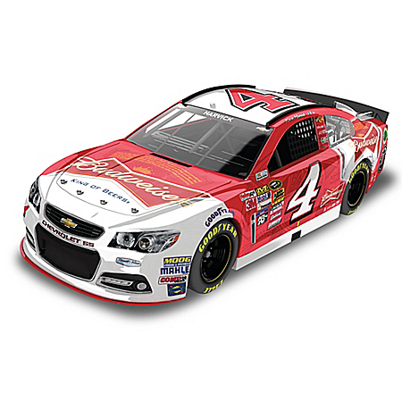 Kevin Harvick No. 4 Budweiser 2015 1:24-Scale Diecast Car
