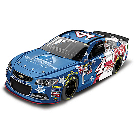 Kevin Harvick No. 4 Folds Of Honor/Outback Steakhouse/Budweiser Diecast Car