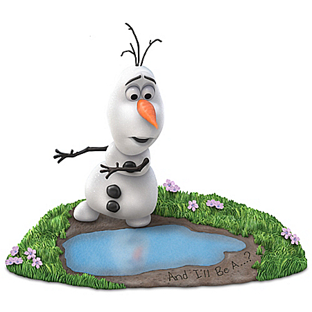 Disney FROZEN And I'll Be A. Summer Olaf Figurine