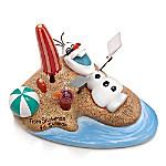 Disney FROZEN From Snowman To Sunman Olaf Figurine