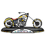 NFL Pittsburgh Steelers Driven To Victory Super Bowl Motorcycle Sculpture