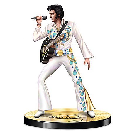 Visions Of A Legend Elvis Presley Sculpture