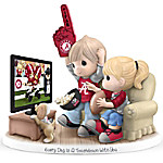 Precious Moments Every Day Is A Touchdown With You Alabama Crimson Tide Figurine