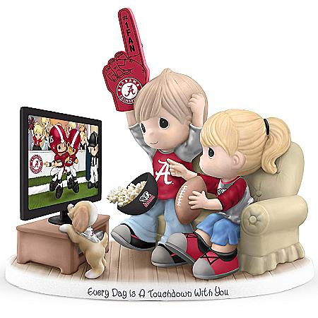 University of Alabama Crimson Tide Football Fan Precious Moments Figurine