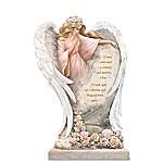 Thomas Kinkade In Loving Memory Angel Sculpture