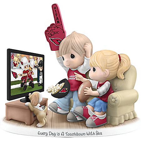 Every Day Is A Touchdown With You Collectible Arizona Cardinals Figurine