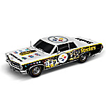 Pittsburgh Steelers Power & Pride Commemorative Collage Car Sculpture