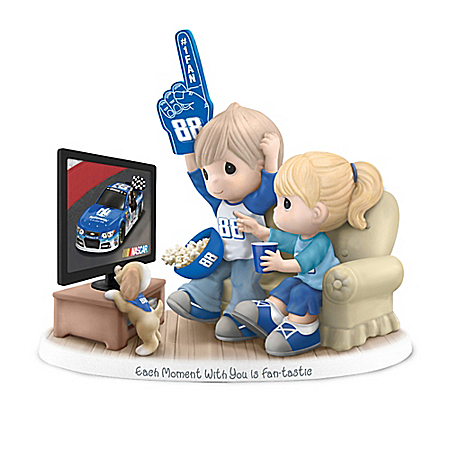 Precious Moments Each Moment With You Is Fan-tastic Dale Earnhardt Jr. Figurine