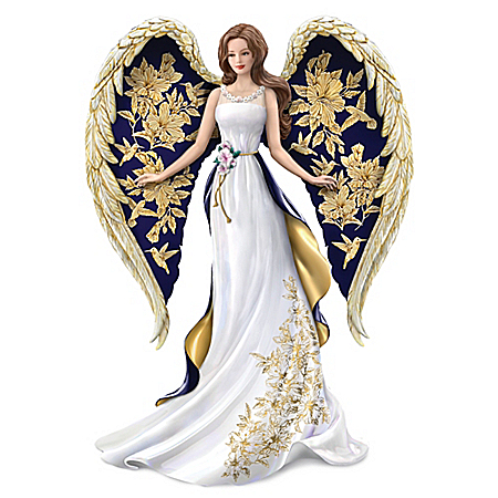 Lena Liu Glorious Praise Handcrafted Angel Figurine