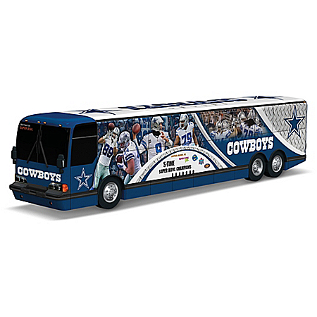 Tony Romo And The Dallas Cowboys On The Road To Victory Bus Sculpture