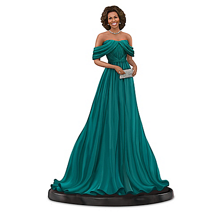 First Lady Michelle Obama Style & Grace Figurine