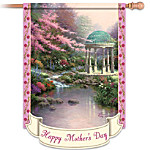 Thomas Kinkade Happy Mother's Day Outdoor Decorative Flag