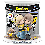 Together We're A Winning Team Pittsburgh Steelers Figurine