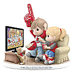 Precious Moments Every Day Is A Slam Dunk With You Cardinals Figurine