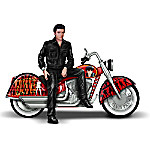 Elvis Presley's Riding With The King Handcrafted Sculpture