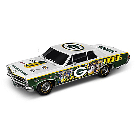Green Bay Packers Power & Pride Commemorative Collage Car Sculpture