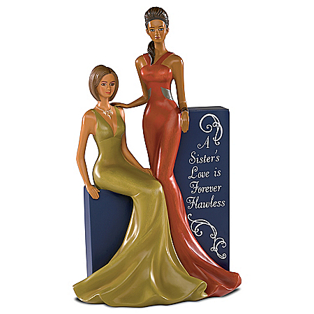 A Sister's Love Is Forever Flawless Handcrafted Figurine