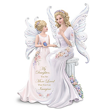 My Daughter, You Are More Loved Than You Can Imagine Angel Figurine