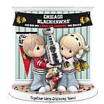 Together We're A Winning Team: Stanley Cup Champions Chicago Blackhawks Figurine