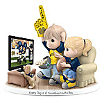 Precious Moments Every Day Is A Touchdown With You Notre Dame Figurine