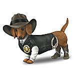Sher-ruff S. Paws Old West Dachshund Figurine