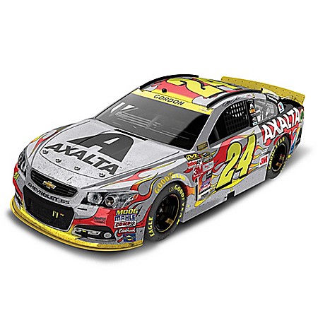 Jeff Gordon No. 24 Axalta Homestead 2015 1:24 Scale Diecast Car