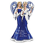 A Sister Reaches For Your Hand But Holds Your Heart Angel Figurine