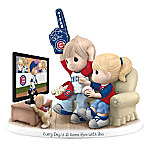 Precious Moments Every Day Is A Home Run With You Chicago Cubs Figurine