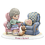Precious Moments Forever By Your Side, Always In My Heart Figurine