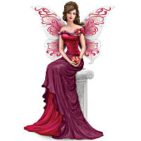 Thomas Kinkade The Heart Of Love Winged Maiden Figurine