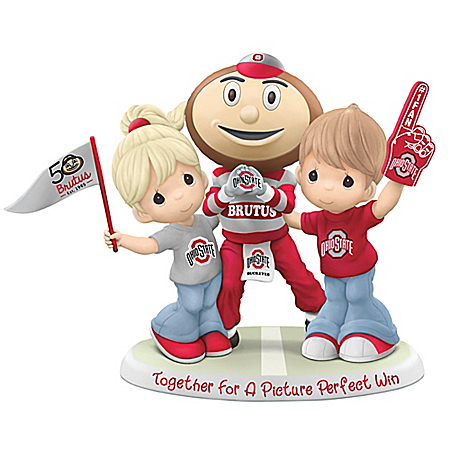Together For A Picture Perfect Win Ohio State Buckeyes Figurine