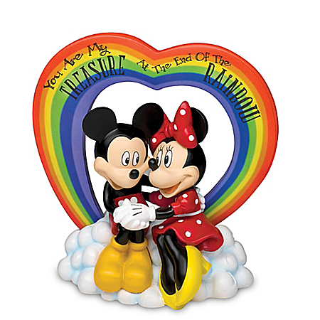 Disney You Are My Treasure At The End Of The Rainbow Figurine