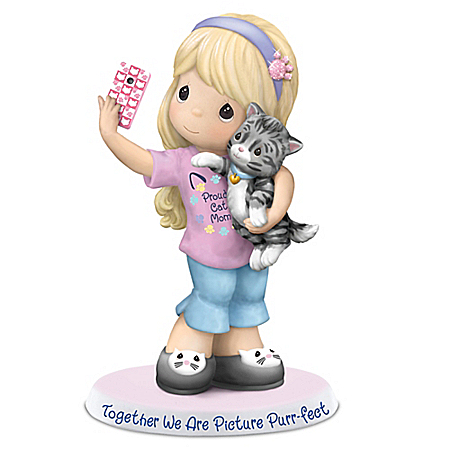 Precious Moments Together We Are Picture Purr-fect Handcrafted Figurine