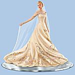 Disney Cinderella The Wedding Gown Hand-Painted Figurine