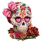 Lady Amora Sugar Skull Figurine By Margaret Le Van