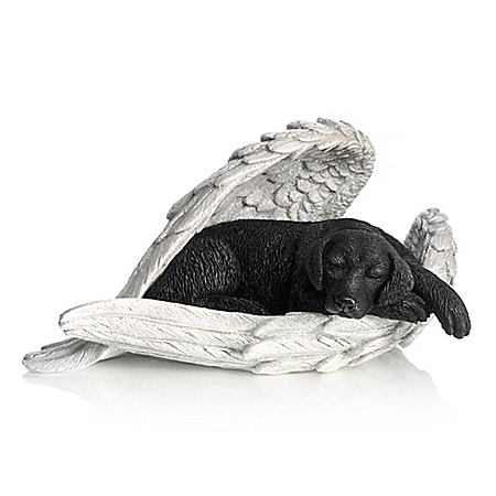 Labradors Leave Paw Prints On Our Hearts Sculpture