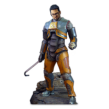 Half Life 2 Gordon Freeman Sculpture